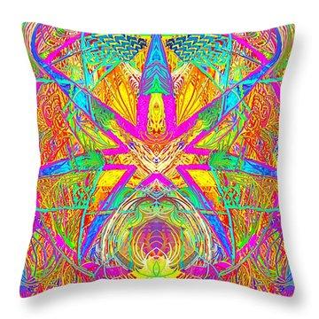 Cross 3 11 17 Throw Pillow