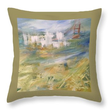 Cross A Bridge And Get Over It Throw Pillow