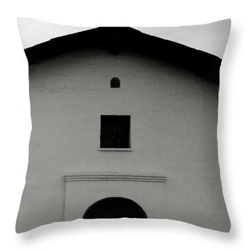 Cross At The Top- Art By Linda Woods Throw Pillow