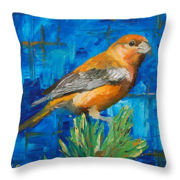 Cross Bill Throw Pillow