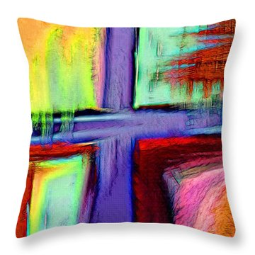 Cross Of Hope Throw Pillow