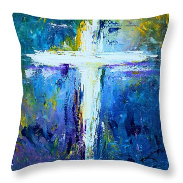 Cross No.4 Throw Pillow