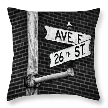 Throw Pillow featuring the photograph Cross Roads by Darren White