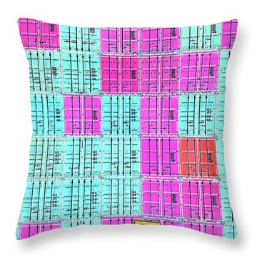 Cross Shipping Throw Pillow