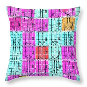 Cross Shipping Throw Pillow