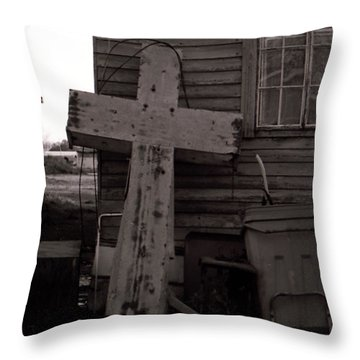 Cross Tallulah Louisiana Throw Pillow