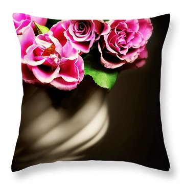 Crossed My Mind Throw Pillow