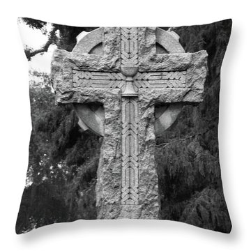 Crossed Over Throw Pillow