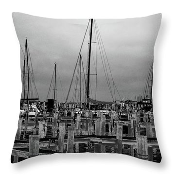 Throw Pillow featuring the photograph Crosses by EDi by Darlene