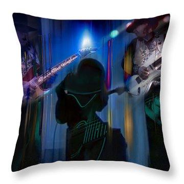 Crossfire Throw Pillow