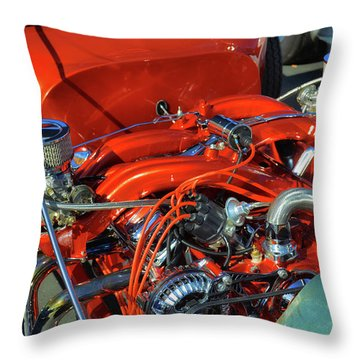Crossflow Throw Pillow