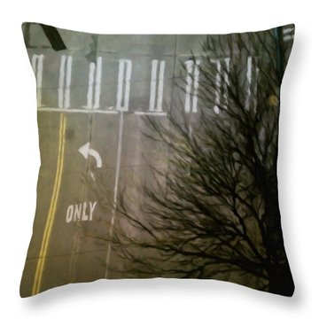 Crossing, From The Ninth Throw Pillow