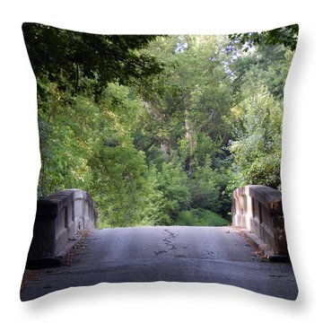 Crossing Into The Light Throw Pillow