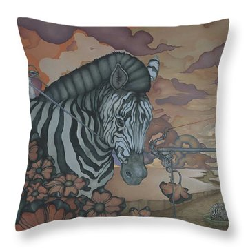 Crossing The Mara Throw Pillow