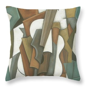 Crossroads Throw Pillow by Trish Toro
