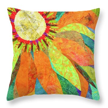 Crown Of Petals Throw Pillow