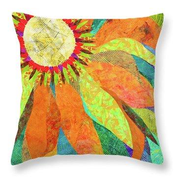 Crown Of Petals Throw Pillow