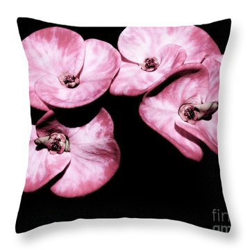 Crown Of Thorns Throw Pillow by Amar Sheow