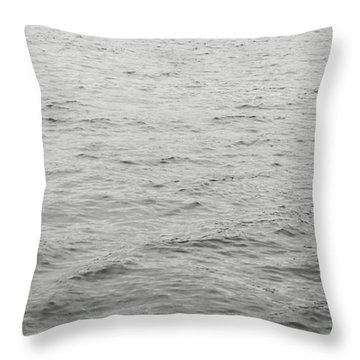 Crows In Flight Throw Pillow