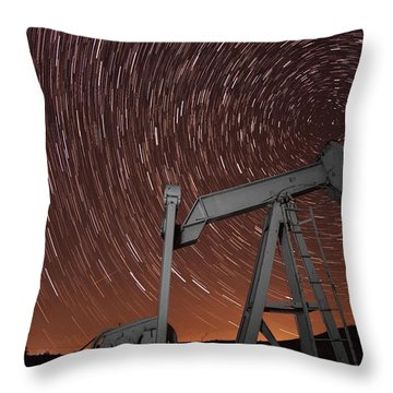 Crude Intentions Throw Pillow