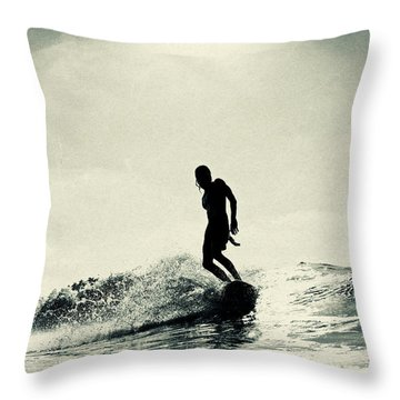 Cruise Control Throw Pillow
