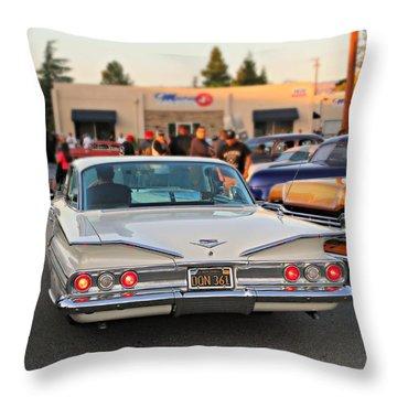 Cruise Night Throw Pillow