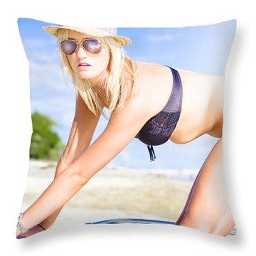 Cruise Throw Pillow