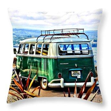 Throw Pillow featuring the photograph Cruisin' 808 by DJ Florek