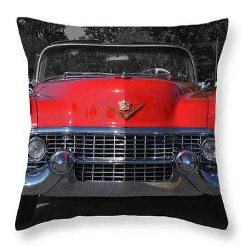 Cruising Americana Throw Pillow