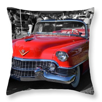 Cruising Home Throw Pillow