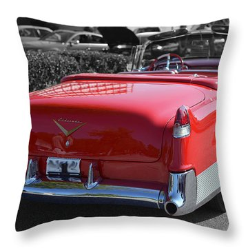 Cruising In Time Throw Pillow