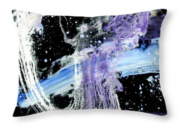 Cruising Throw Pillow by Pearlie Taylor