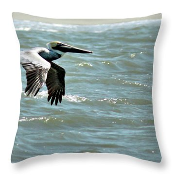 Cruising Throw Pillow by Phill Doherty