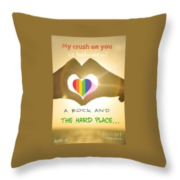 Crush  Throw Pillow
