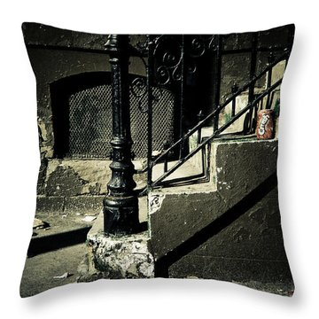 Crush Throw Pillow by Jessica Brawley