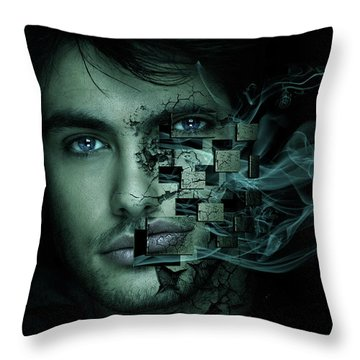 Cry For Help Throw Pillow