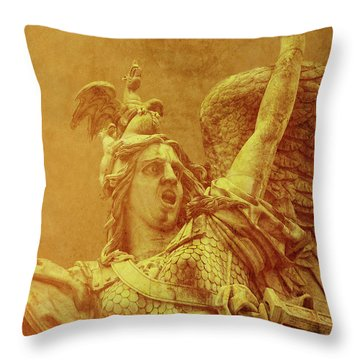 Cry Havoc Throw Pillow