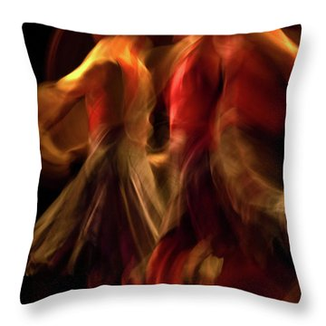 Throw Pillow featuring the photograph Crychord 10 by Catherine Sobredo