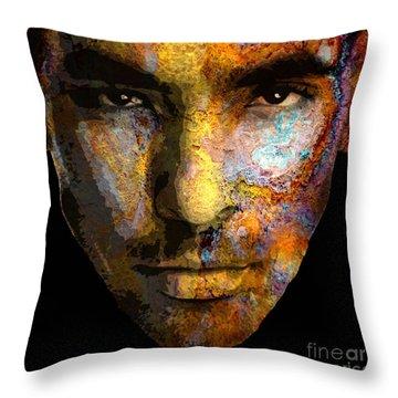 Cryptofacia 50 - Jason Throw Pillow
