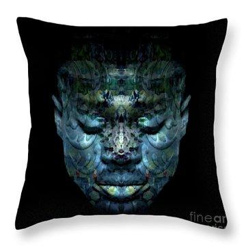 Cryptofacia 92 Throw Pillow