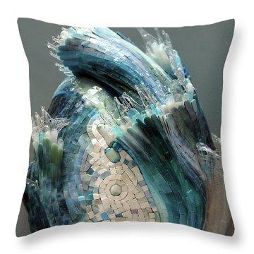 Crysalis II Throw Pillow