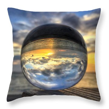 Crystal Ball 1 Throw Pillow