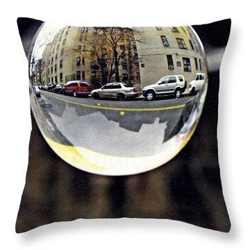 Crystal Ball Project 89 Throw Pillow by Sarah Loft