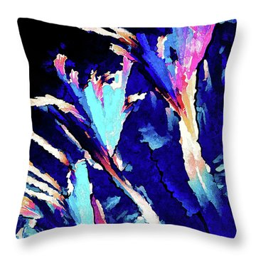 Crystal C Abstract Throw Pillow