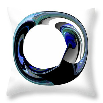 Crystal Alliance Throw Pillow by Thibault Toussaint