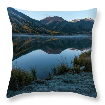 Crystal Lake - 0565 Throw Pillow