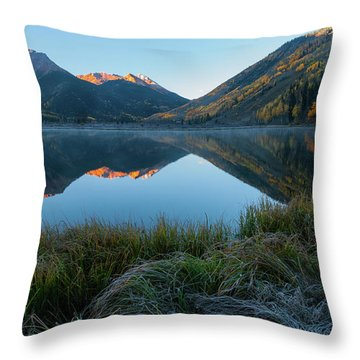 Crystal Lake - 0577 Throw Pillow