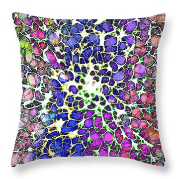 Crystal Musings 1 Throw Pillow