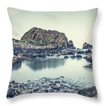 Crystal Shores Throw Pillow