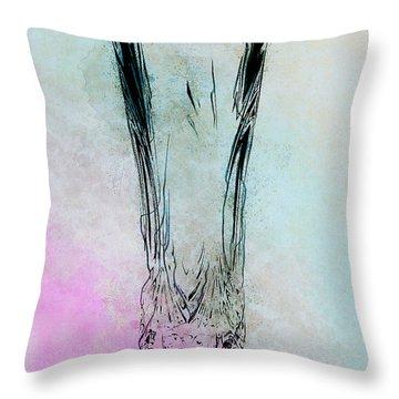Crystal Vase Throw Pillow